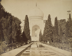 The Taj from the Garden, Agra